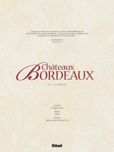 Page 4 Châteaux Bordeaux tome 10