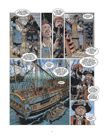 Page 8 Black beard tome 1