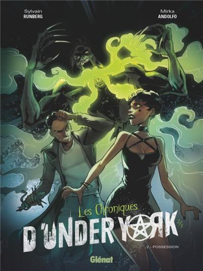 Couverture Les chroniques d'under york tome 2