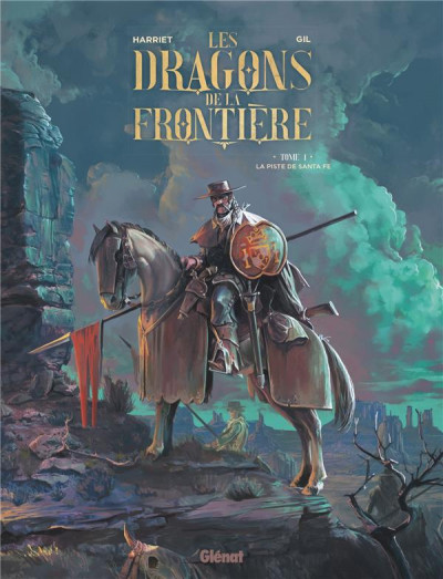 Couverture Les dragons de la frontière tome 1