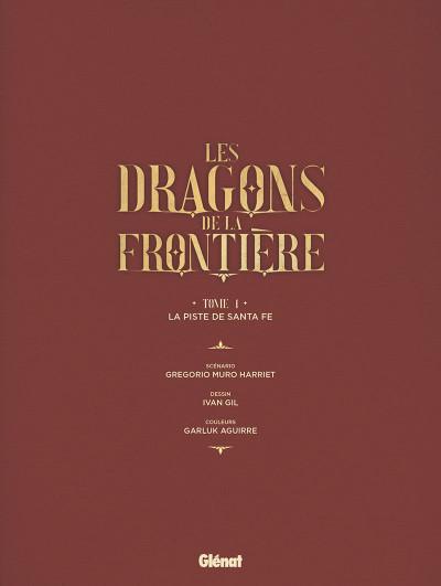 Page 2 Les dragons de la frontière tome 1