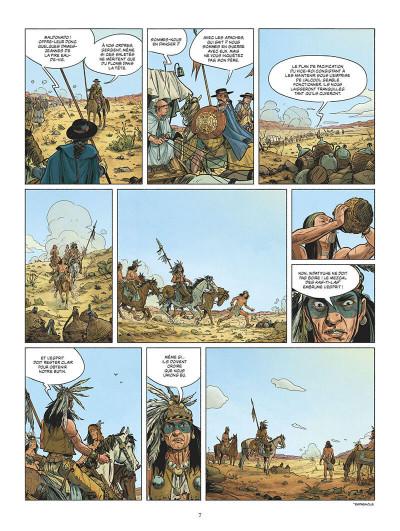 Page 8 Les dragons de la frontière tome 1