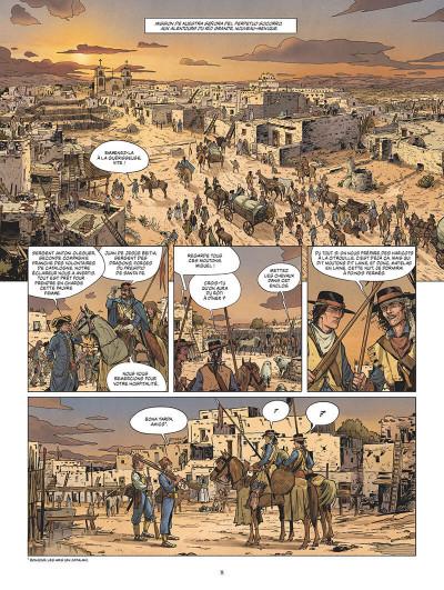 Page 9 Les dragons de la frontière tome 1