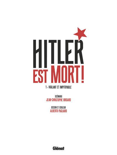 Page 4 Hitler est mort ! tome 1