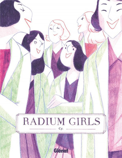 Couverture Radium girls