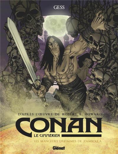 Couverture Conan le Cimmérien - Les mangeurs d'hommes de Zamboula