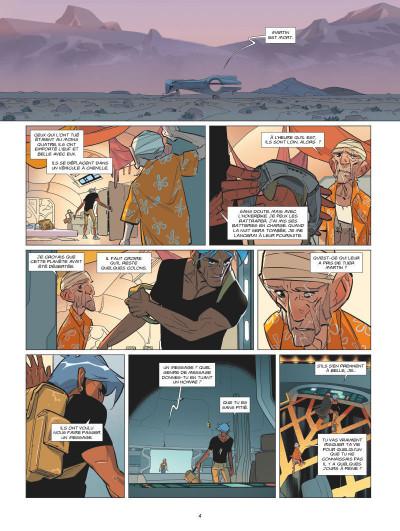 Page 2 L'orphelin de Perdide tome 2 - Silbad