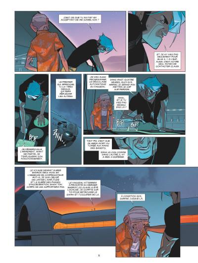 Page 3 L'orphelin de Perdide tome 2 - Silbad