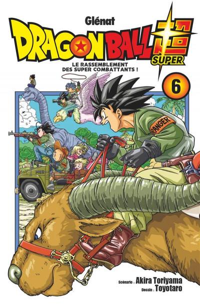 Couverture Dragon ball super tome 6