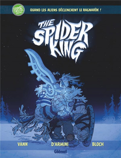 Couverture Spider king