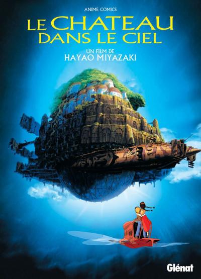 Couverture Le château dans le ciel - anime comics
