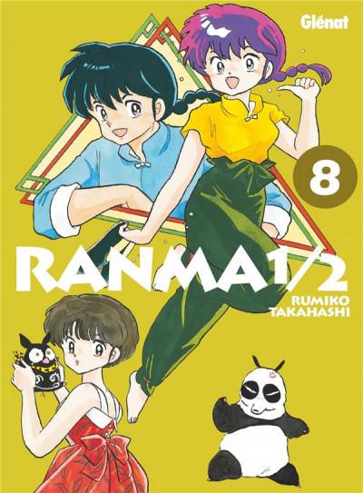 Couverture Ranma 1/2 - édition originale tome 8