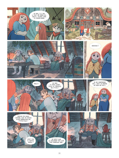 Page 0 Bergères guerrières tome 3
