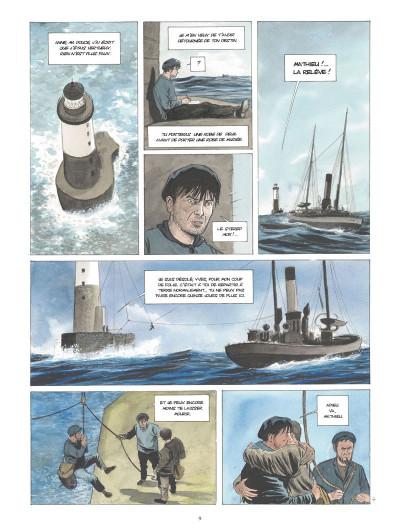 Page 8 L'or des marées tome 1