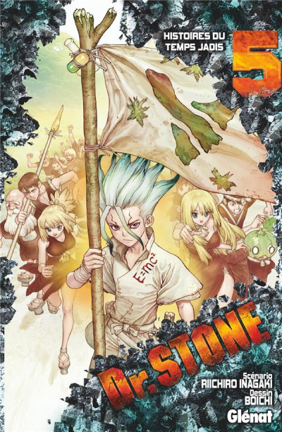 Couverture Dr. Stone tome 5