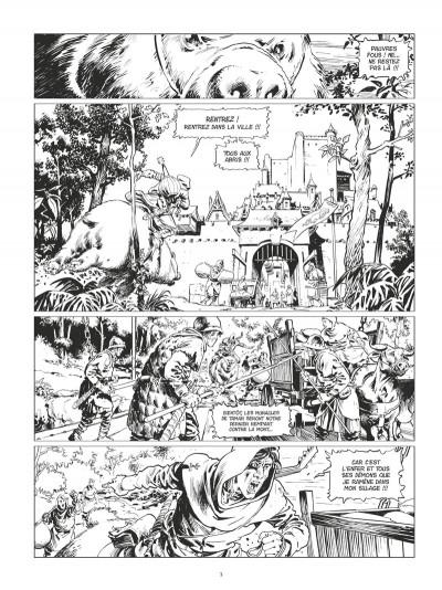 Page 2 Conan le Cimmérien - La citadelle écarlate (édition noir et blanc)
