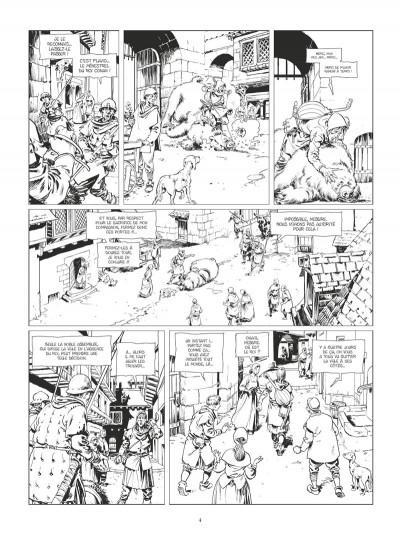 Page 3 Conan le Cimmérien - La citadelle écarlate (édition noir et blanc)