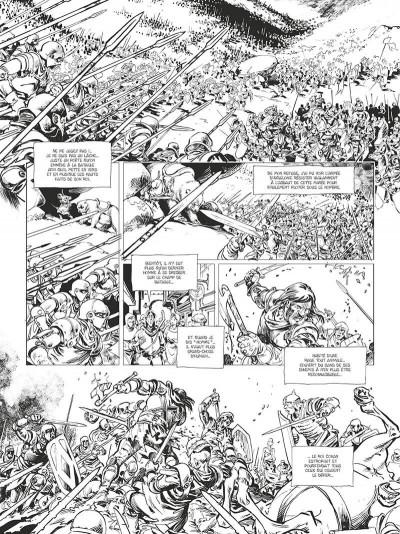 Page 5 Conan le Cimmérien - La citadelle écarlate (édition noir et blanc)