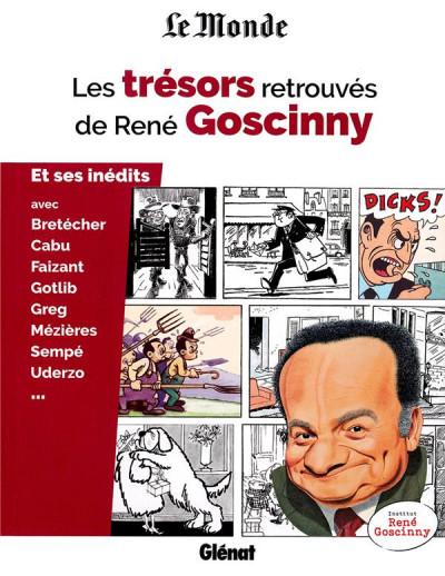 Couverture Les trésors retrouvés de René Goscinny
