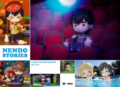 Couverture Nendo stories - A life in toy photography