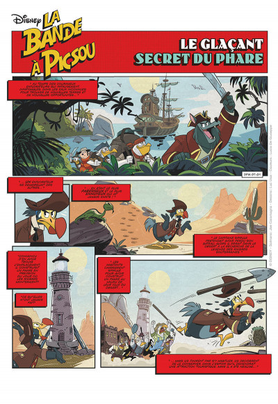 Page 1 La bande à Picsou tome 1