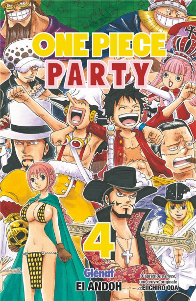 Couverture One piece party tome 4
