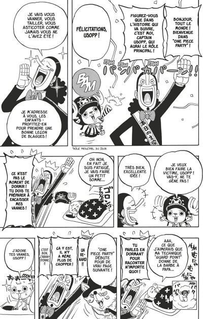 Page 8 One piece party tome 4