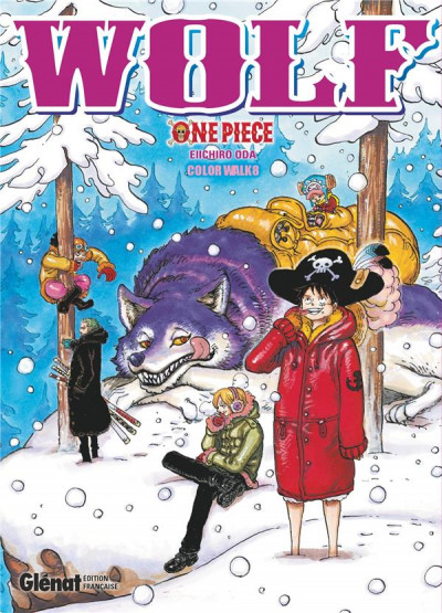 Couverture One Piece color walk tome 8