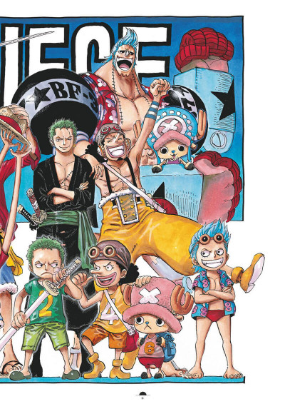 Page 2 One Piece color walk tome 8