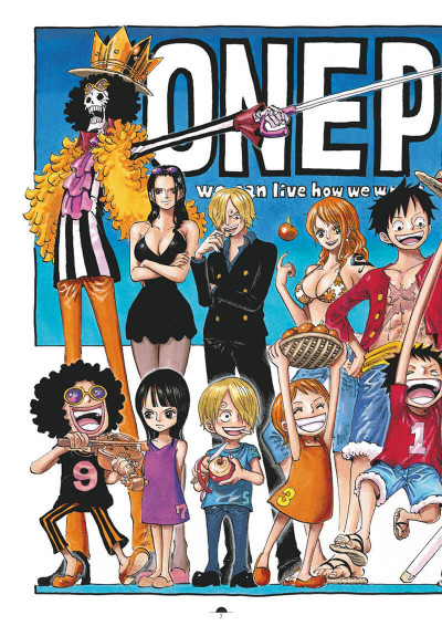 Page 3 One Piece color walk tome 8
