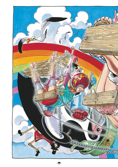 Page 5 One Piece color walk tome 8
