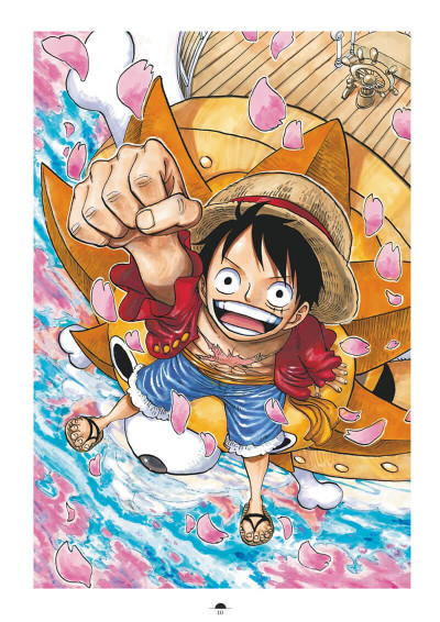 Page 6 One Piece color walk tome 8