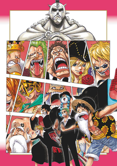 Page 7 One Piece color walk tome 8
