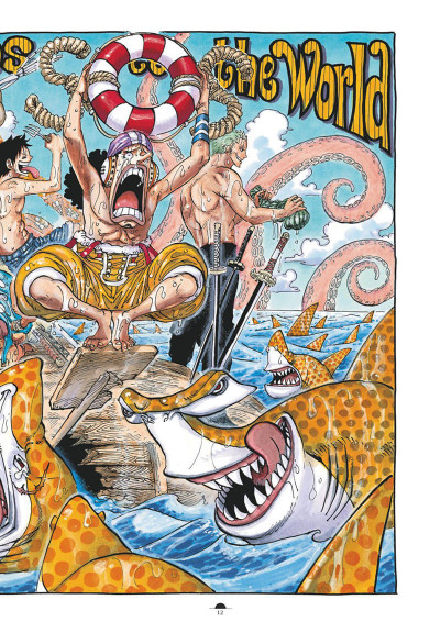 Page 8 One Piece color walk tome 8