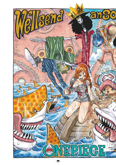Page 9 One Piece color walk tome 8