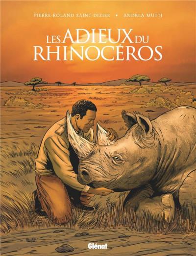 Couverture Les adieux du rhinocéros