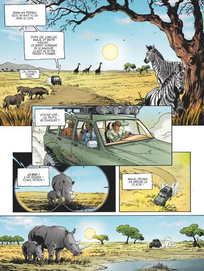 Page 2 Les adieux du rhinocéros