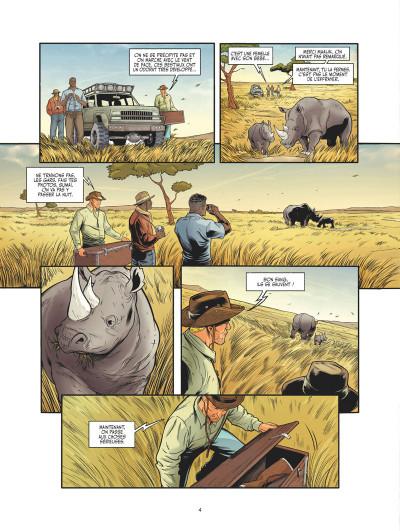 Page 3 Les adieux du rhinocéros