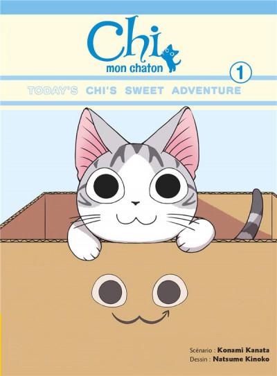 Couverture Chi mon chaton tome 1