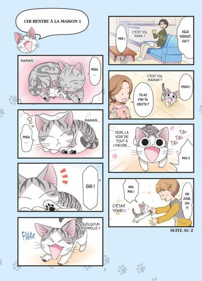 Page 3 Chi mon chaton tome 1