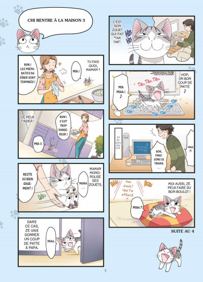 Page 5 Chi mon chaton tome 1
