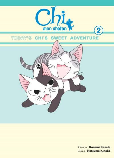 Couverture Chi mon chaton tome 2