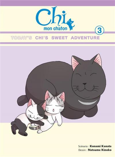 Couverture Chi mon chaton tome 3