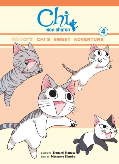 Couverture Chi - mon chaton tome 4