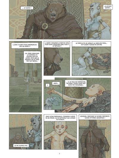 Page 8 Sa majesté des ours tome 1