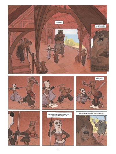Page 9 Sa majesté des ours tome 1