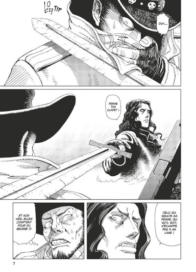 Page 8 Gunnm - last order - édition originale tome 6