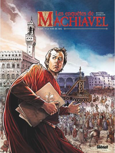 Couverture Les enquêtes de Machiavel tome 1