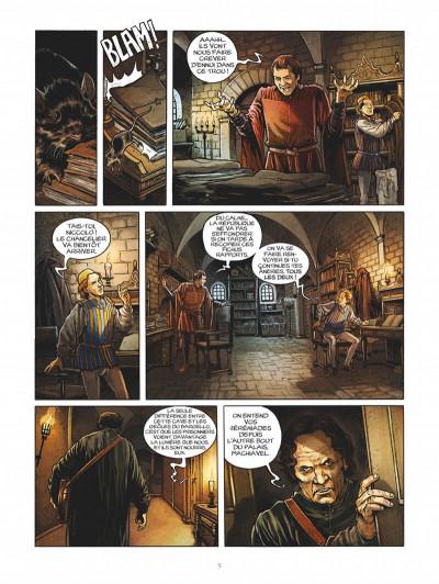 Page 5 Les enquêtes de Machiavel tome 1