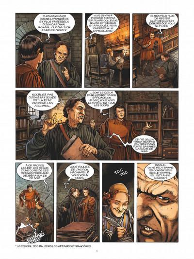 Page 6 Les enquêtes de Machiavel tome 1